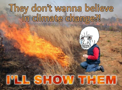 Meme Alert: The Desperation Of Climate Change Activists