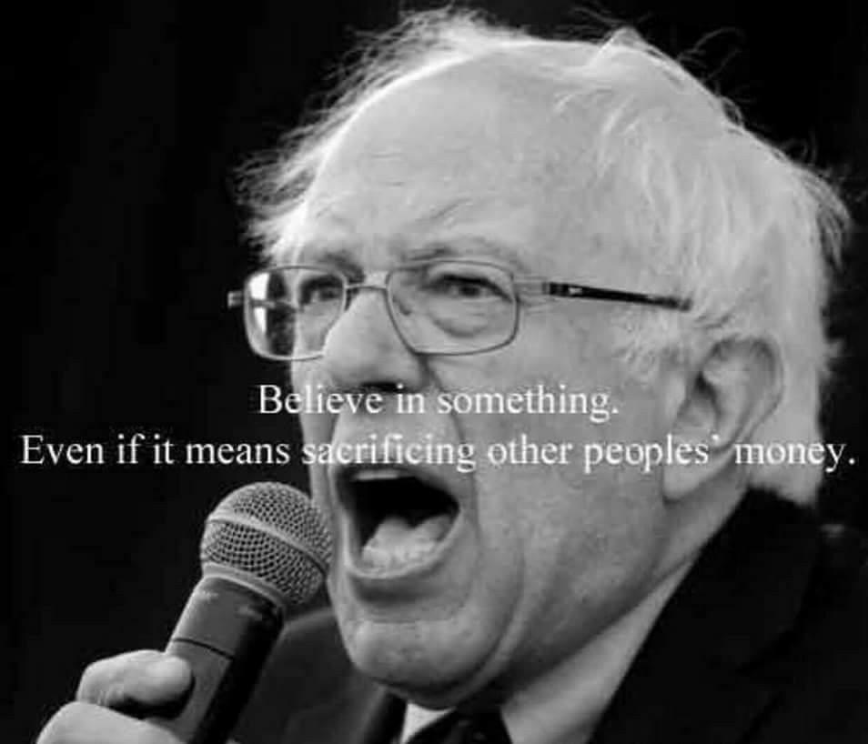Believe In Something: Bernie Sanders Edition