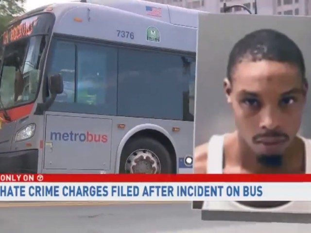 Maryland Bus Passenger Attacked Disabled White Man While Screaming About Slavery