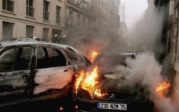 945 Cars Torched In France On New Years, Government Says It Was A Success