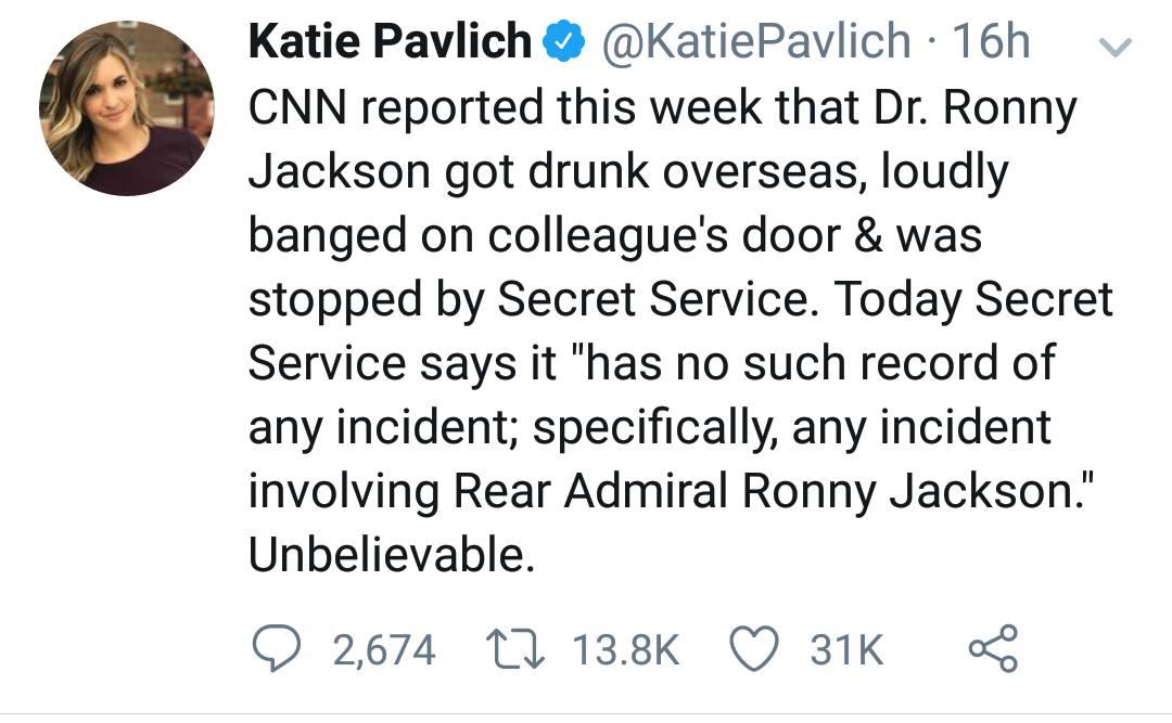 Secret Service Debunks CNN