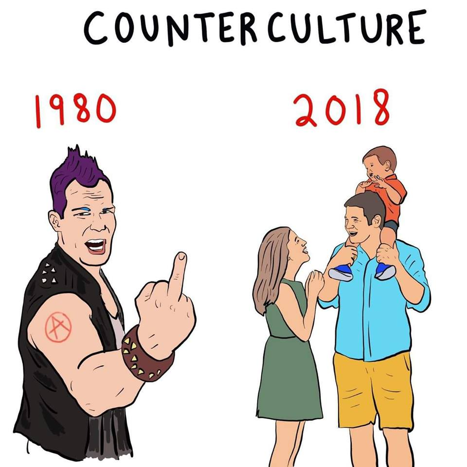 The New Counter Culture