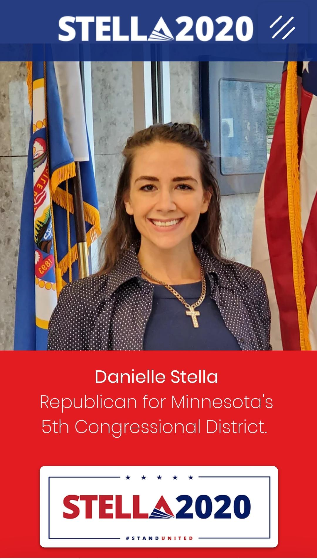 Ilhan Omar`s Challenger Danielle Stella Becomes The Next Victim In The Social Media 2020 Election Interference Campaign