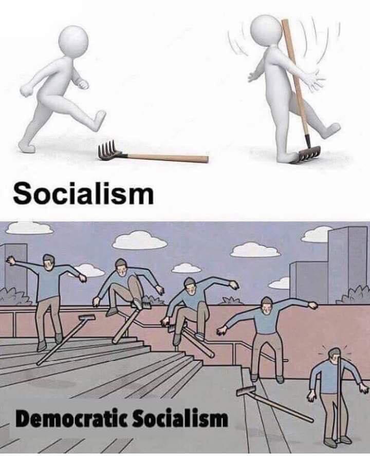 Meme Alert: Socialism Vs. Democratic Socialism