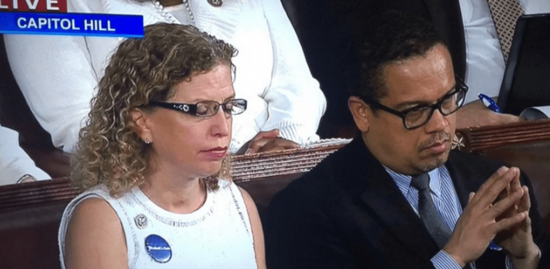 AWFUL: Top Democrats Refuse To Stand, Clap For Navy SEAL Widow Honored By Trump
