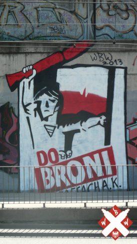 Do Broni: White Boys Wielkopolska Street Art