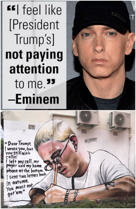 "Eminem: ""The Land Of The Free That Made People Slaves To Build"" Is The Greatest Country To Live In"