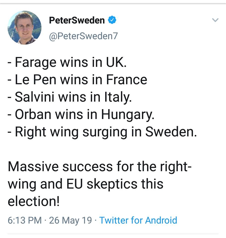 Farage, Le Pen, Salvini & More, Populist Parties Win Across EU