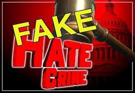 Fake Hate Crimes And Fake News