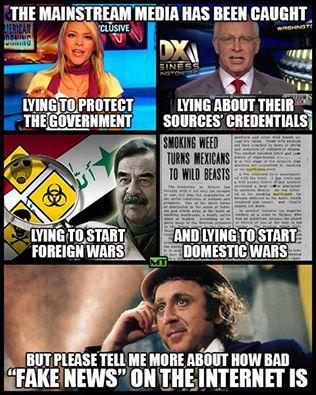 Corporate Mass Media Wants To Censor Alternative Media