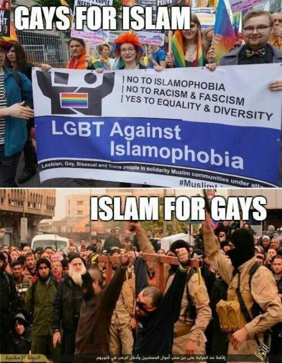 Gays Are Leaving The Liberal Base Because It`s Aligned Itself With Islam