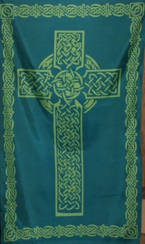 Celtic Cross: Green Flag