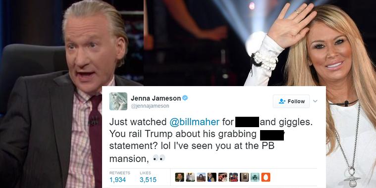 Jenna Jameson Exposes Bill Maher`s Hypocrisy