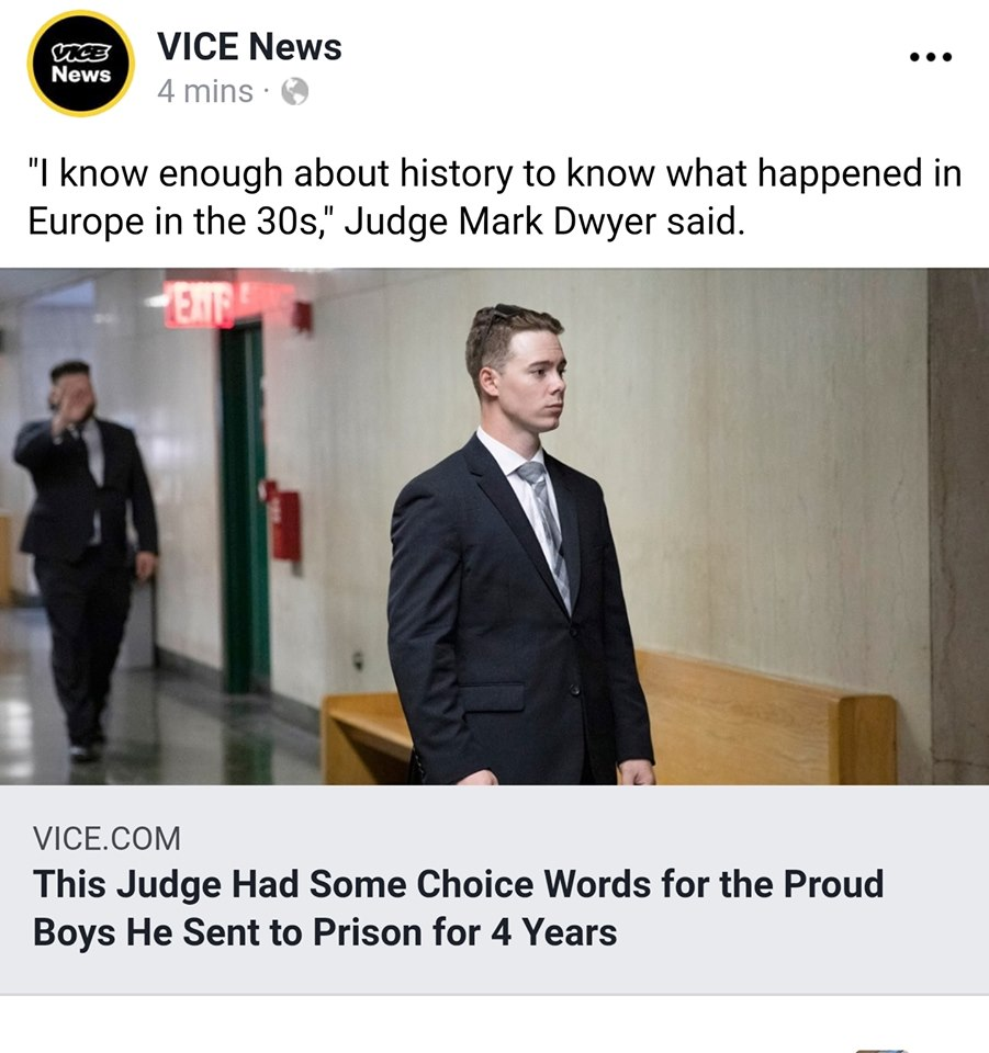 Did The Judge Who Sentenced 2 Proud Boys To Jail After They Were Attacked By Antifa Show Prejudice & Bias?