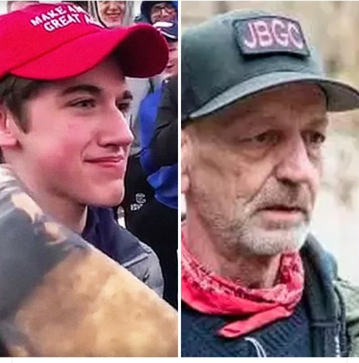 Media Double Standards: Antifa Vs. MAGA Hat Kid