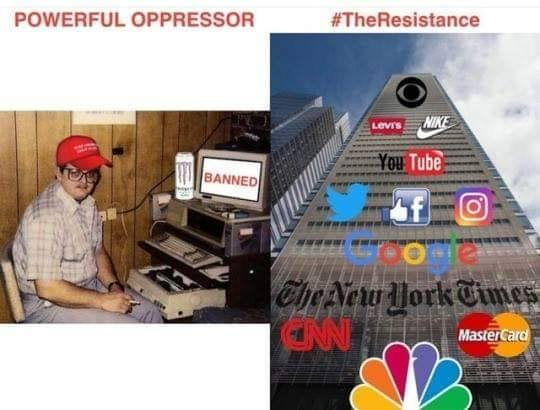 Meme Alert: Powerful Oppressor Vs The Resistance
