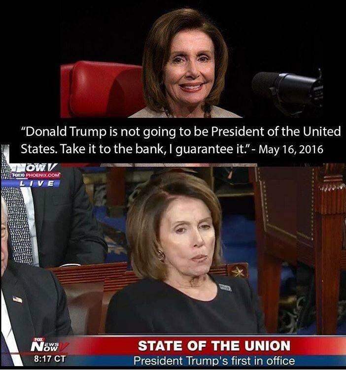 Meme Alert: Nancy Pelosi State Of The Union