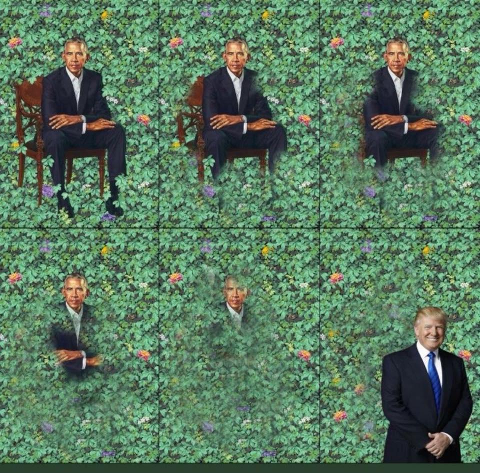Meme Alert: Presidential Painting Redo