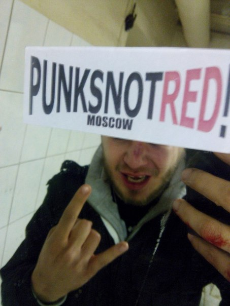 Punks Not Red World Wide