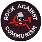 Rock Against Communism Patch