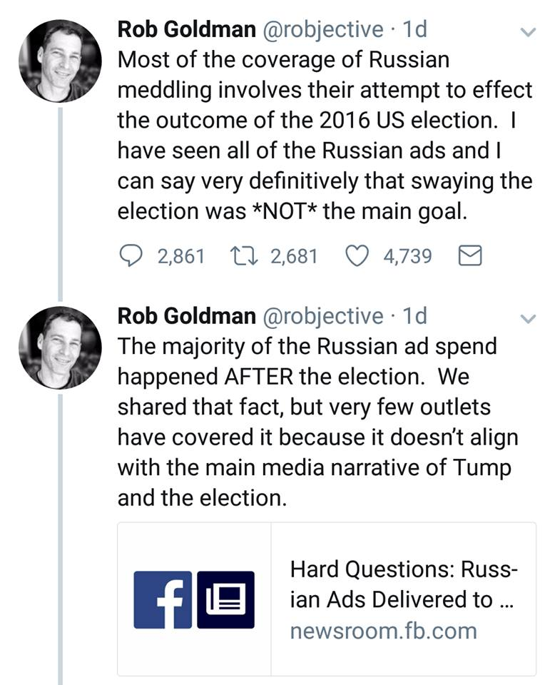"Russians Indicted For ""Election Interference"""