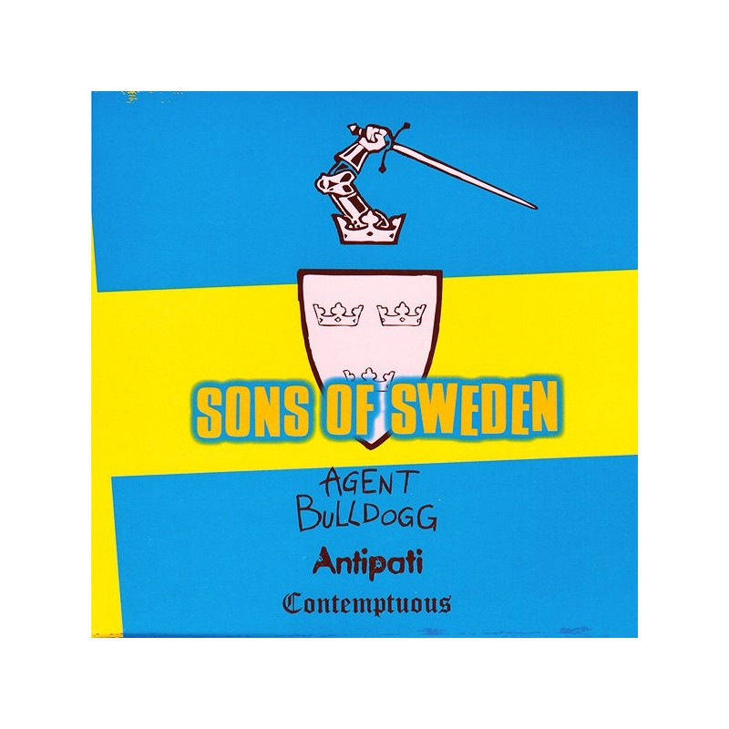 Sons Of Sweden- Agent Bulldogg / Antipati / Contemptuous 7″