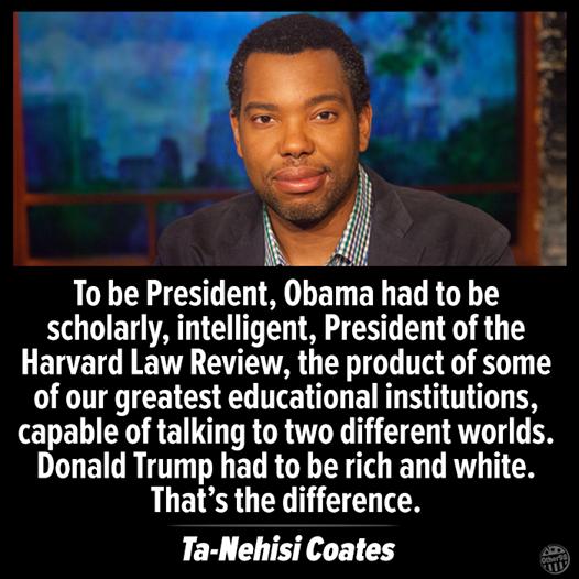 Ta-Nehisi Coates`s Racist Logic