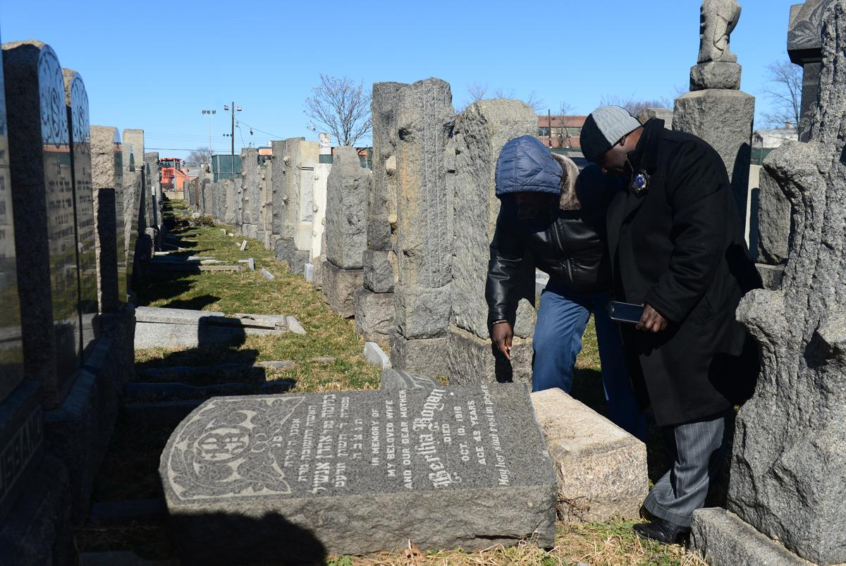 Tipped Over Headstones At Jewish Cemetery Not A Hate Crime