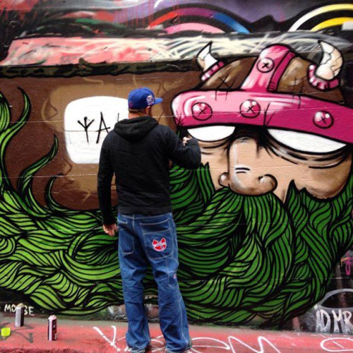 Viking Street Art