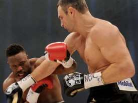 Klitschko Puts Chisora In His Place