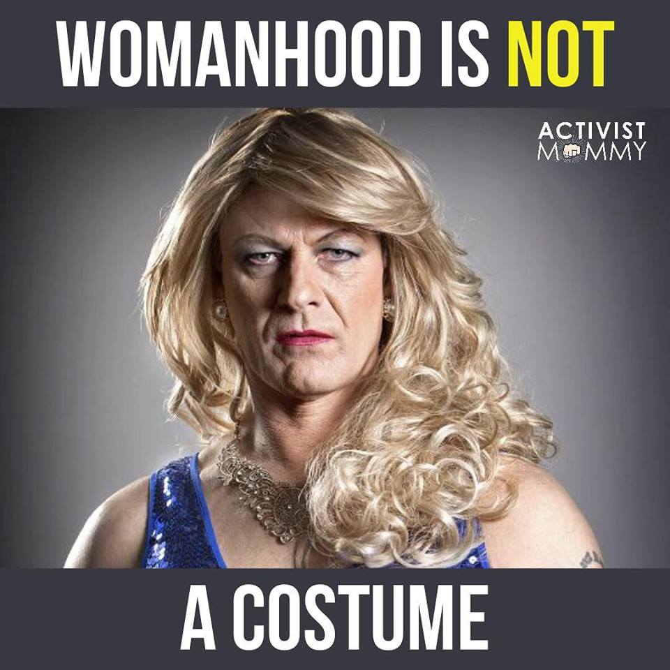 Womanhood Is Not A Costume