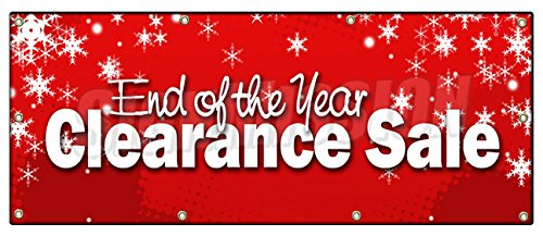 Year End Clearance Sales & Raffle!