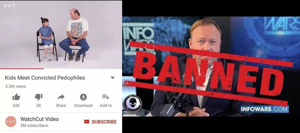 A Disturbing Look At What Youtube Censors And What They Don`t